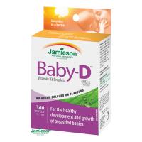 JAMIESON Baby-D3 Vitamín D3 400 IU kapky 11,7ml