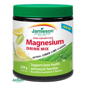 JAMIESON Hořčík DRINK MIX příchuť citrón+limetka 228g