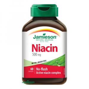 JAMIESON Niacin 500mg s inositolem 60 tablet