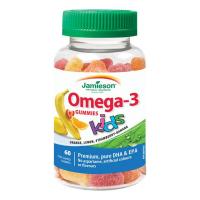 JAMIESON Omega-3 Kids Gummies 60 želatinových pastilek