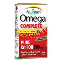 JAMIESON Omega Complete Super Krill 500mg 60 kapslí