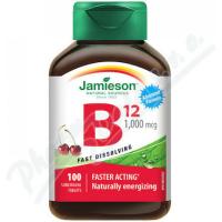 JAMIESON Vit.B12 1000mcg třešeň 100 tablet