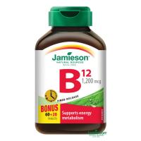 JAMIESON Vitamín B12 1200mcg s postupným uvolňováním 80 tablet