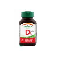 JAMIESON Vitamín D3 1000 IU 90 kapslí