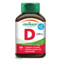 JAMIESON Vitamín D3 1000 IU 100 tablet