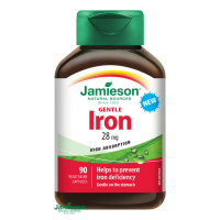 JAMIESON Železo 28mg 90 kapslí