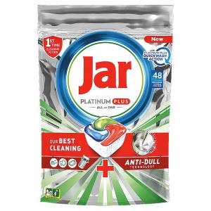 JAR Tablety do myčky Platinum Plus All in 1 QuickWash 48 ks
