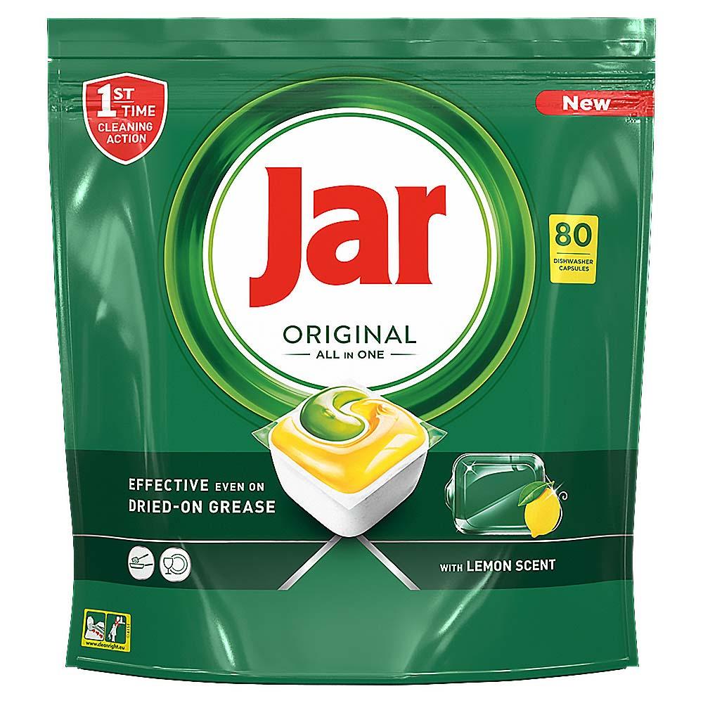 JAR Tablety do myčky Lemon 80 ks