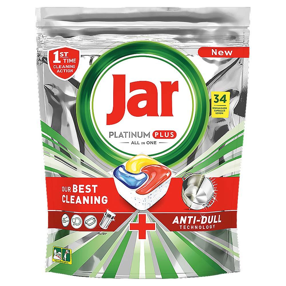 JAR Tablety do myčky Platinum Plus 34 ks