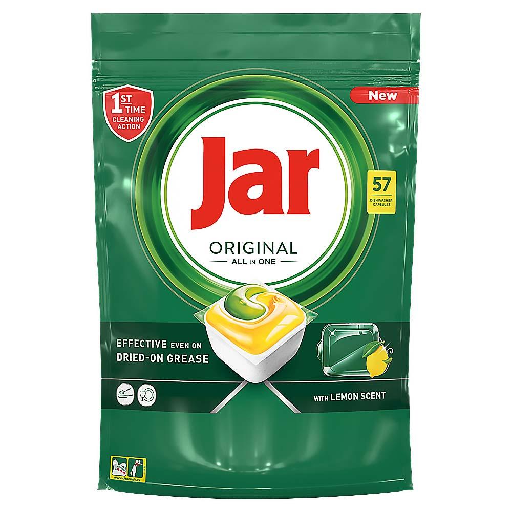 JAR Tablety do myčky Lemon 57 ks