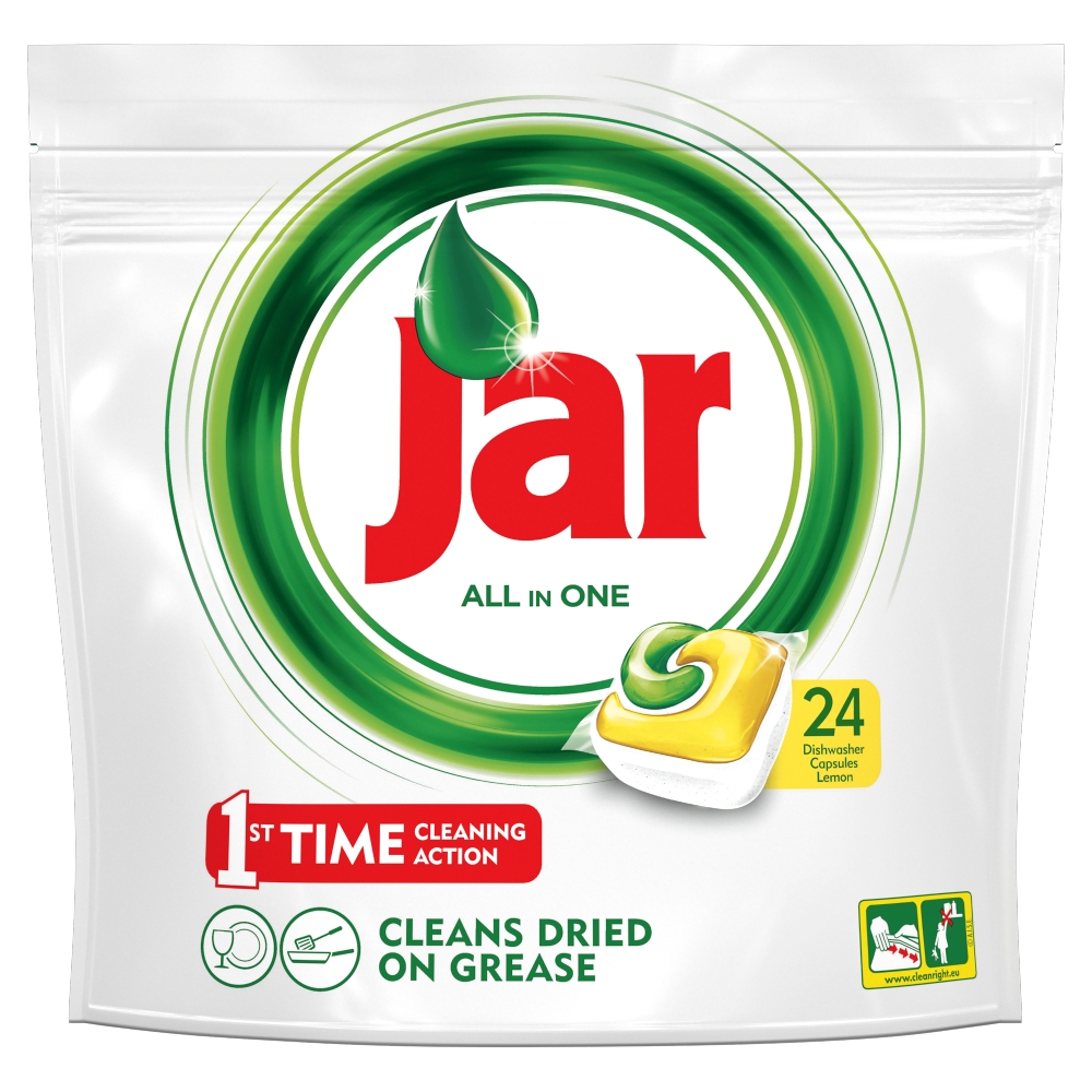 JAR Tablety do myčky Yellow 24 ks