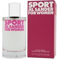 JIL SANDER Sport Toaletní voda pro ženy 50 ml