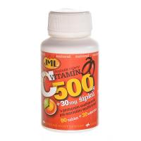 JML Vitamin C se šípky tablety s postupným uvolňováním 500 mg 120 tablet