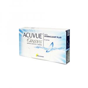 JOHNSON Acuvue Oasys Plus dvoutýdenní kontaktní čočky 6 kusů