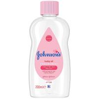 JOHNSON´S Pink Baby oil Dětský olej 200 ml