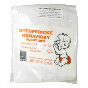 Kalhotky ortopedické kojenecké velikost č. 1 suchý zip