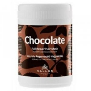 KALLOS Čokoládová vlasová maskaprosuchéalámavé vlasy 1000 ml