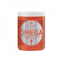 KALLOS KJMN Vlasová maska s Omega komplexem pro poničené vlasy 1000 ml