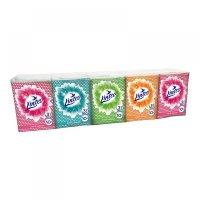 LINTEO Papírové kapesníky mini 3-vrstvé 10x10 kusů