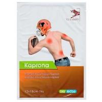 KAPRONA Kapsaicinová prohřívací náplast 12 x 18 cm