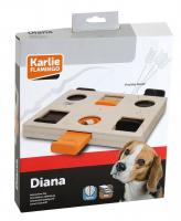 KARLIE Interaktivní dřevěná hračka Diana 29x24x2,5cm