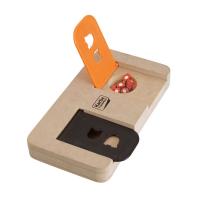KARLIE FLAMINGO Interaktivní dřevěná hračka RIDDLE 22x12 cm