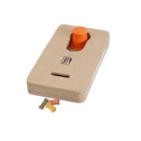 KARLIE FLAMINGO Interaktivní dřevěná hračka THALES 22x12 cm
