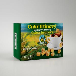 KÁVOVINY Třtinový cukr kostky 500 g