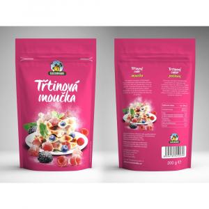 KÁVOVINY Třtinový cukr moučka 200 g