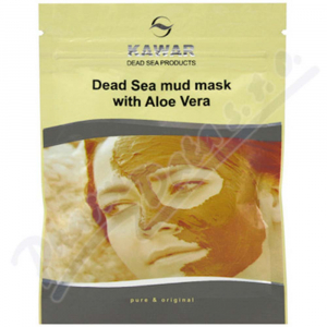 KAWAR Pleťová maska Aloe vera+minerály z Mrtvého moře 75 g