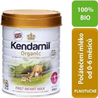 KENDAMIL 1 BIO Organické Počáteční kojenecké mléko od 0 - 6 měsíců 800 g