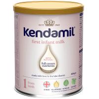 KENDAMIL 1 DHA+ Počáteční kojenecké mléko od 0 - 6 měsíců 400 g