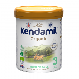 KENDAMIL 3 BIO DHA+ Organické pokračovací batolecí mléko od 12 - 36 měsíců 800 g