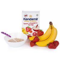 KENDAMIL Banánová, jahodová kaše od 7. měsíce BIO 150 g