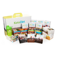 KetoDiet proteinová dieta INTENSE 2. krok 112 porcí VÝHODNÉ balení