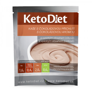 KETODIET Proteinová kaše s čokoládovou příchutí 7 porcí