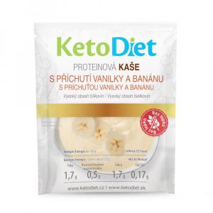 KETODIET Proteinová kaše s příchutí vanilky a banánu 7 porcí
