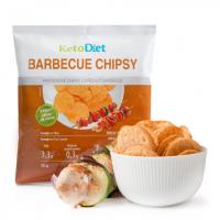 KETODIET Proteinové chipsy s příchutí barbecue 25 g