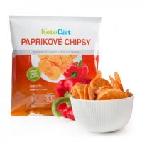 KETODIET Proteinové chipsy s příchutí papriky 25 g