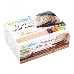 KETODIET Proteinový chléb tmavý 7 porcí
