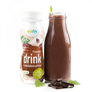 KETOLIFE Proteinový drink s čokoládovou příchutí 250 ml