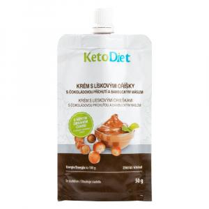 KETODIET Proteinový krém s lískovými oříšky 50 g