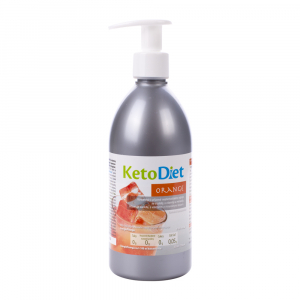 KETODIET Sirup bez cukru s příchutí Orange 500 ml