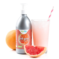 KETOLIFE Sirup bez cukru s příchutí Pink grep 500 ml