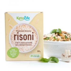 KETOLIFE  Proteinové těstoviny risoni 500 g
