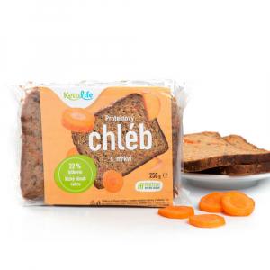 KETOLIFE Proteinový chléb  mrkví 250 g