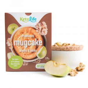 KETOLIFE Proteinový mugcake ořechy a jablka 175 g