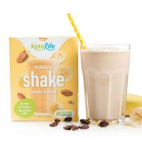 KETOLIFE Proteinový shake banány a kakao 150 g