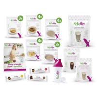 KETOMIX Ochutnávkový týdenní balíček čokoláda a vanilka 35 porcí