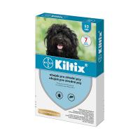 KILTIX Obojek proti blechám a klíšťatům pro střední psy 53 cm